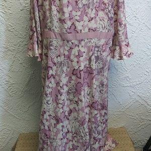18W INC Woman 100% Silk Dress